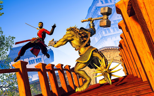 Shadow Ninja Warrior - Samurai Fighting Games 2020 1.3 screenshots 8