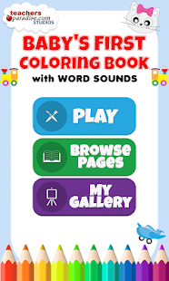 Baby S First Coloring Book Android Apps On Google Play