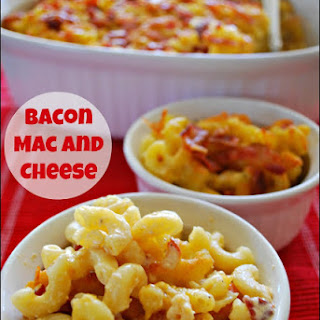 Quick and Easy Meals – Bacon Mac and Cheese.