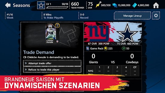 Madden NFL Mobile Football Screenshot