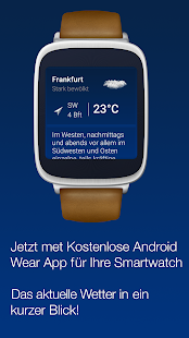 The Weather in Germany: Radar, weather warnings APK image thumbnail 7