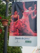 Photo: ulice Jerez de la Frontera podczas Festiwalu Flamenco