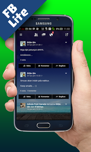 Delta FB Lite Transparan screenshot 3