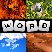 Word Guessing Game: 4 pictures 1 word