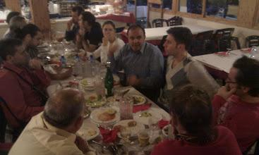 Photo: Tras estar comiendo las primeras ocasiones guacamole, wok de gambas, cuscús... por fin, las últimas horas hemos podido probar los 'pescaítos' y el vino malagueños.