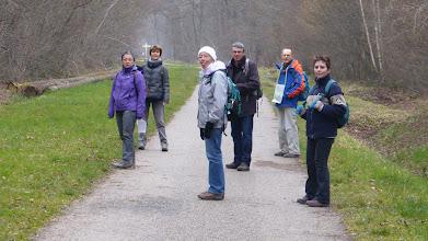 Photo: En forêt de Ferrières sur les 20 km de La Marche du Printemps de Pontcarré - 20 mars 2016