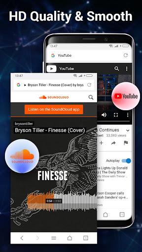 Web Browser & Explorer screenshot