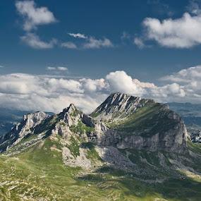 Saddle by Dejan Dajković - Landscapes Mountains & Hills
