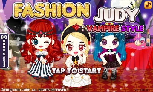 Fashion Judy: Vampire style