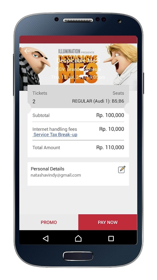 BookMyShow - Tiket Bioskop dan Event- screenshot