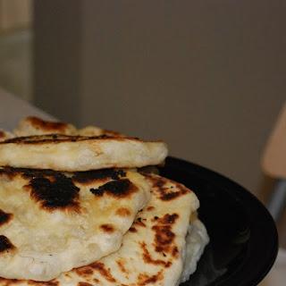 Homemade Naan.