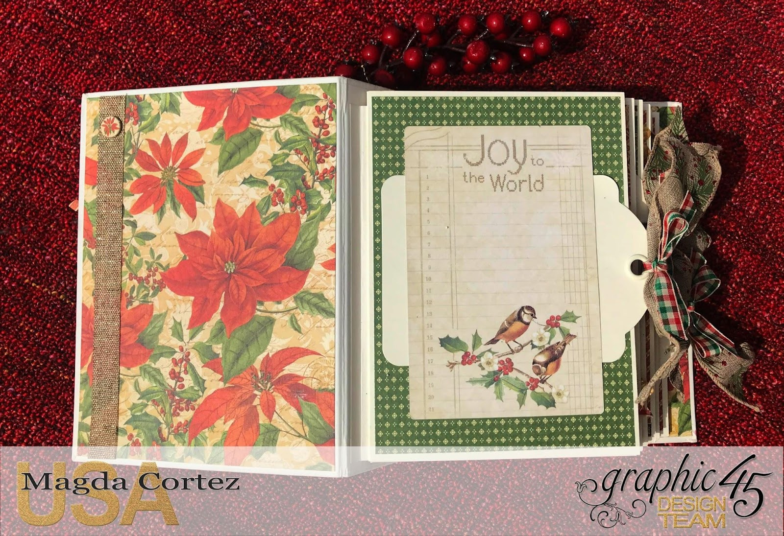 Believe Mini Album,Winter Wonderland By Magda Cortez, Product by Graphic 45, Photo 05 of 11 .jpg