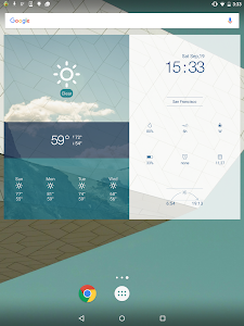 Multifunctional Weather Clock screenshot 5
