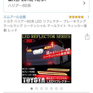 ハリアー ZSU60W ANXSP(S)のカスタム事例画像 Ryu-kiさんの2018年11月04日21:42の投稿