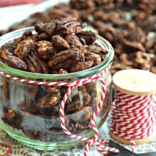 Cocoa Chai Spiced Nuts {Paleo}.