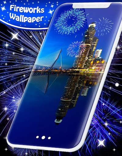 New Years 2019 Fireworks Live Wallpaper 4.8.4 screenshots 6