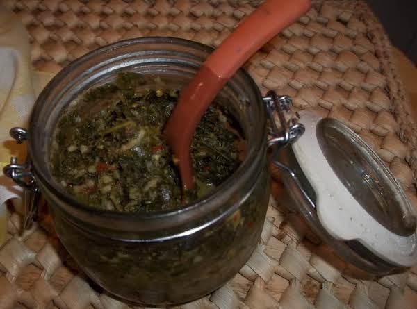 Chimichurri Sauce (sallye) Recipe