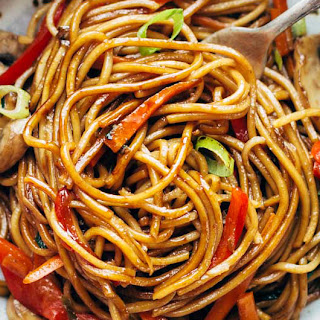 Lo Mein Noodles With Cabbage Recipes