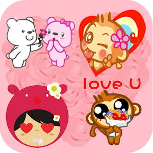 Love Stickers for messenger for PC and MAC
