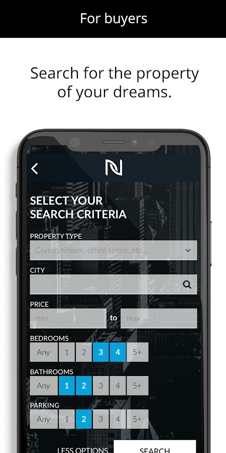 Nobul- screenshot