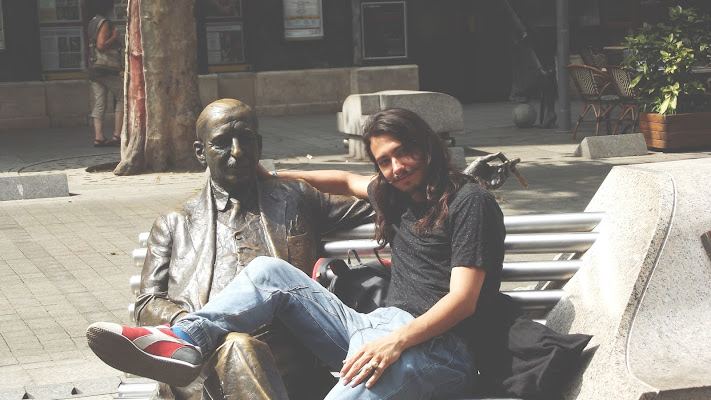 sedersi con le statue  di simple_mood