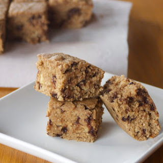 Blender Peanut Butter Banana Oatmeal Bars