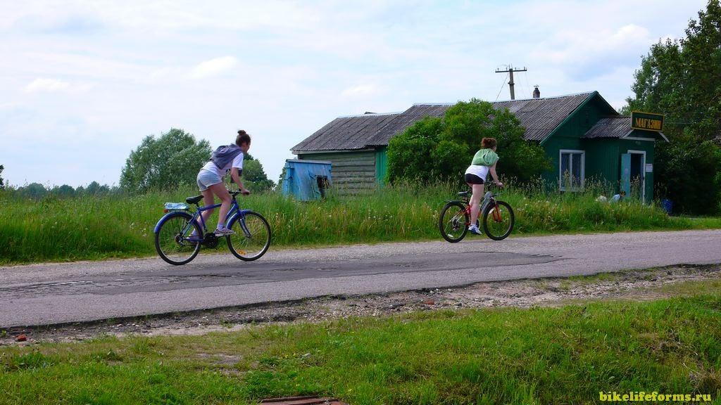 места для катания на велосипеде в Подмосковье