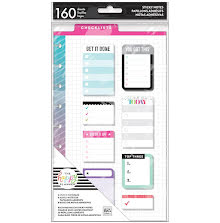 Me & My Big Ideas Happy Planner Sticky Notes 160/Pkg - Checklists