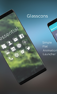 Glasscons – Icon pack v1.1.6 Patched 5