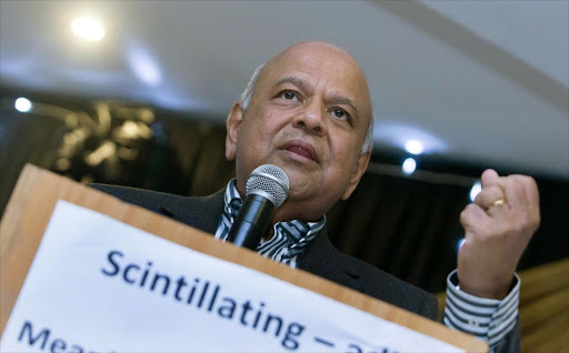 "Finance Minister Pravin Gordhan addresses the eThekwini Ward 65 Branch fund raising dinner at the Savera Hotal in Durban on Saturday night.Gordhan said,"" There are good people being persecuted and thats wrong.Its wrong.It's wrong for persons like Ivan Pillay, Robert McBride and many others to be persecuted in the way they are being persecuted after giving offering their lives for the movement."""