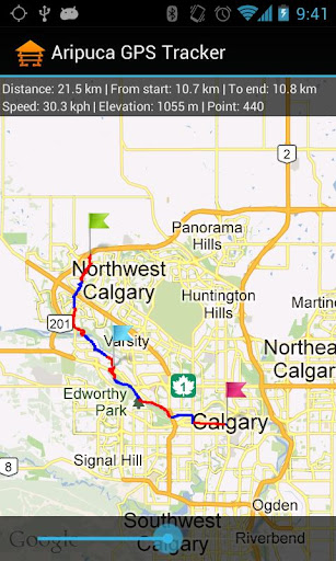 Aripuca GPS Tracker screenshot 2