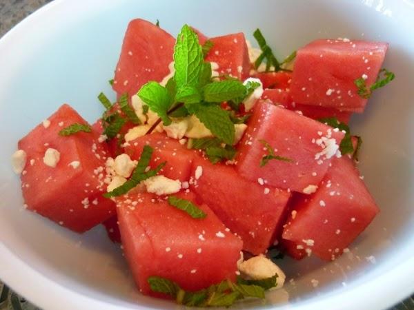 Summer Watermelon Salad Recipe