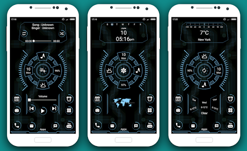 Grace full Launcher 2020 – Hitech UI homescreen 4.0 Mod Android Updated 2