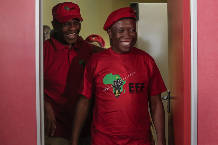EFF leader Julius Malema  once seen as an ally of Mugabe's signalled a growing distance between them.
