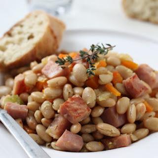 Family Ham & Beans.