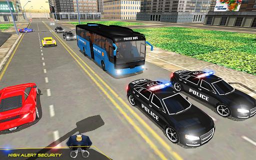 US Police Bus Transport Prison Break Survival Game 4.0 screenshots 8