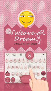 Weave a Dream Theme&Emoji Keyboard - náhled