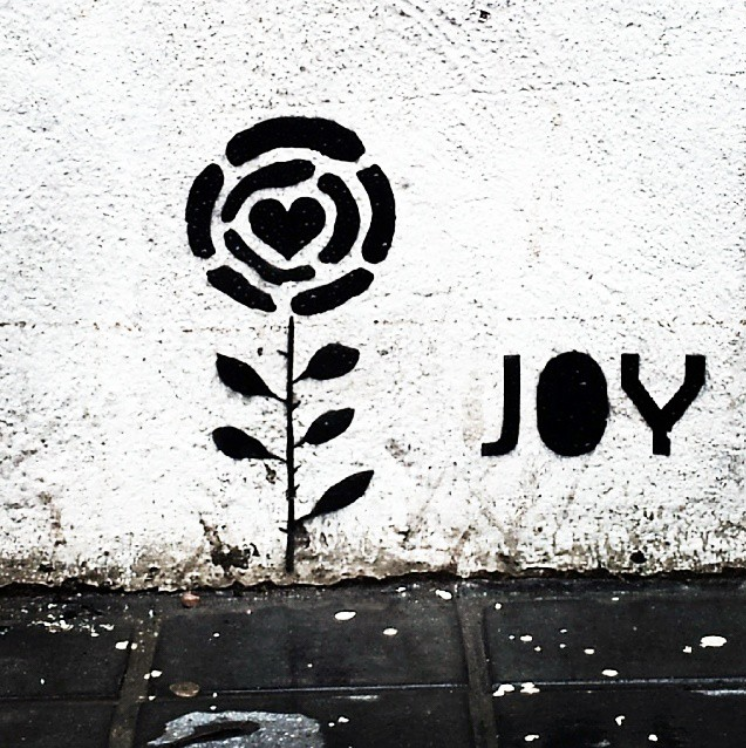 JOY's work, spotted on the streets of Valencia ( Image: JOY)