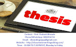 The Best PhD Thesis Writing Services in Bhopal