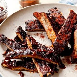 Crockpot Boneless BBQ Pork Ribs.