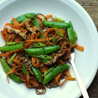 Miso Glazed Veg With Soba Noodles