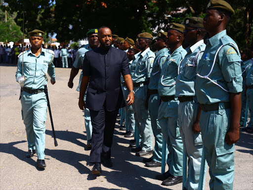 Image result for GOVERNOR JOHO GUARD OF HONOUR