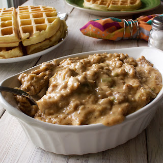 Waffles and Sausage Gravy Recipe