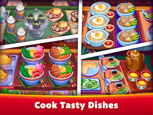 Asian Cooking Star: Crazy Restaurant Cooking Games apkpoly screenshots 7