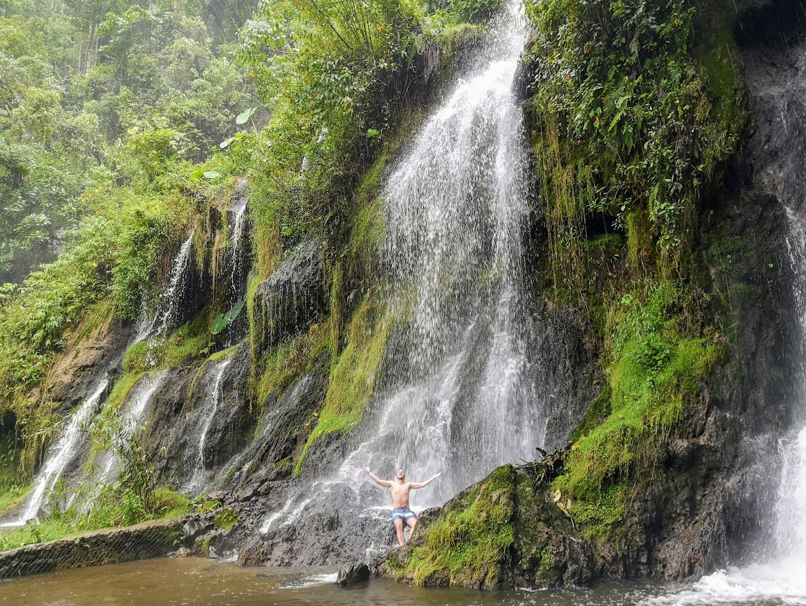 Termales de Santa Rosa de Cabal cascada