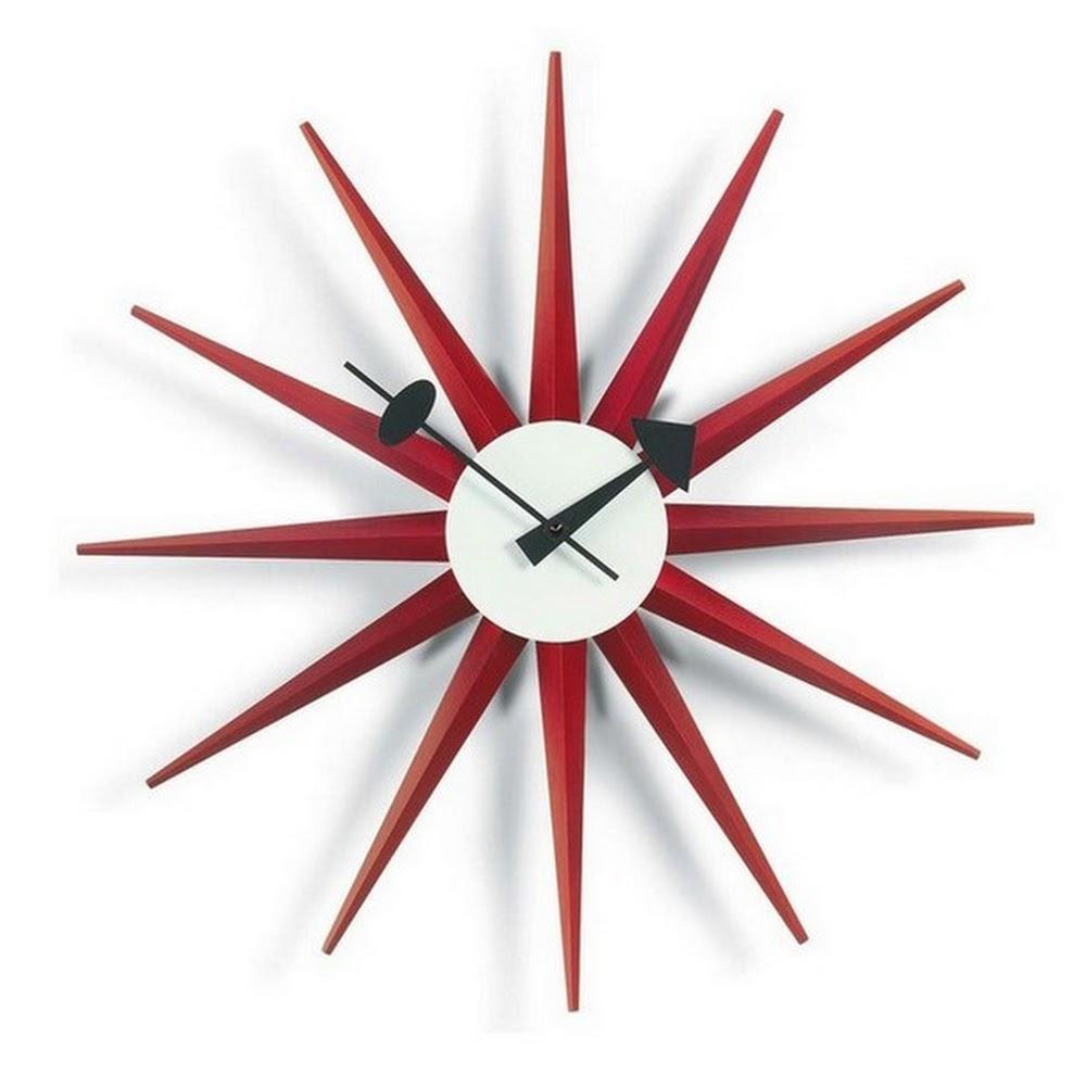 SUNBURST CLOCK | DESIGNER REPRODUCTION