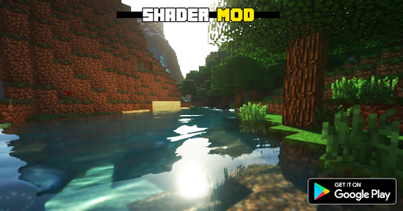 Realistic RTX Shaders Mod for MCPE 1