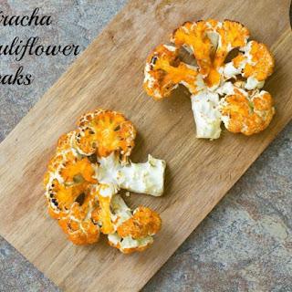 Sriracha Cauliflower Steaks