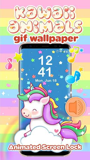 Image of: Seamless Wallpaper Kawaii Wallpapers Cute Animated Animals Screenshot Apkpureco Kawaii Wallpapers Cute Animated Animals Apk Download