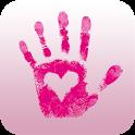 Hand auf dein Herz icon